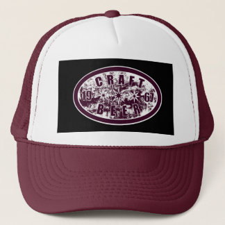 Craft Beer 1967 - Burgundy & White Trucker Hat