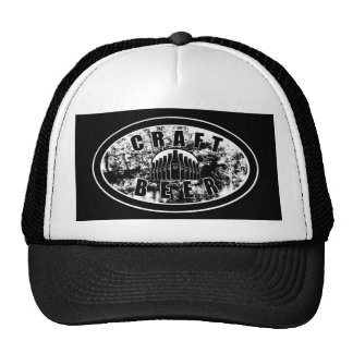Craft Beer - Black & White Trucker Hat