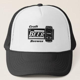 Craft Beer Brewer - Black & White Can Trucker Hat