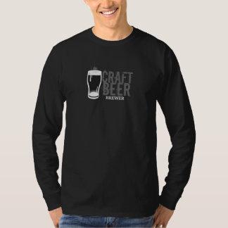 Craft Beer Brewer Black & White Tshirts