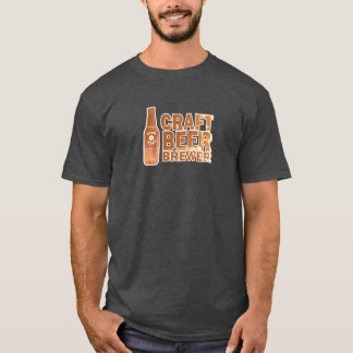Craft Beer Brewer -Faded T-Shirt