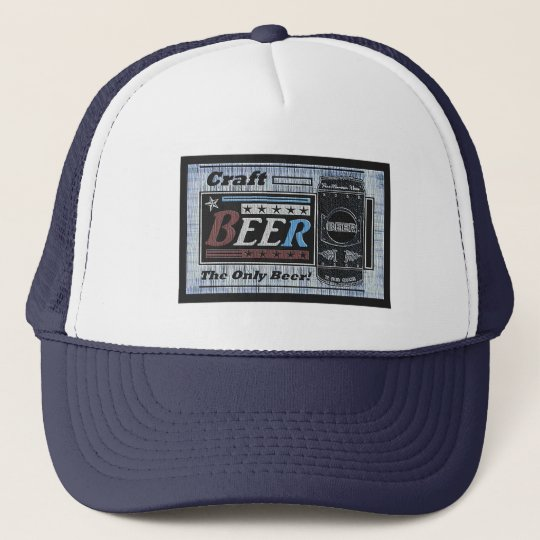 Craft Beer Brewer - RWB Faded Trucker Hat