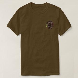 Craft Beer Brewer-Wood Grain Look T-Shirt