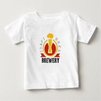 Craft Beer Brewery Logo Design Template Baby T-Shirt