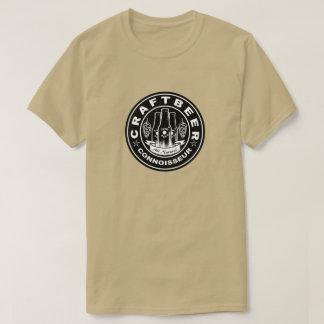 Craft Beer Connoisseur Black & White Hops T-Shirt