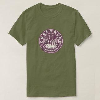 Craft Beer Connoisseur Lite Purple T-Shirt