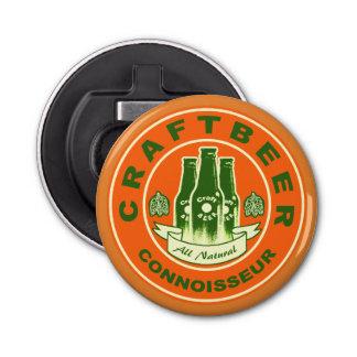 Craft Beer Connoisseur -Orange Green 2 Bottle Opener