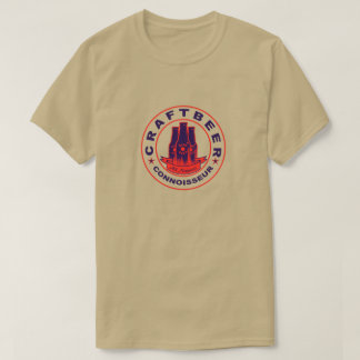 Craft Beer Connoisseur Purple Red T-Shirt