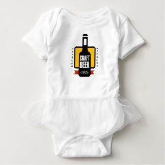 Craft Beer Logo Design Template Baby Bodysuit