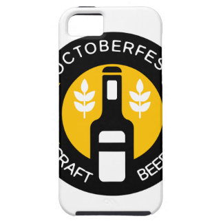 Craft Beer Logo Design Template With Bottle Case For The iPhone 5