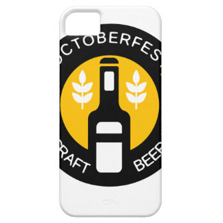 Craft Beer Logo Design Template With Bottle iPhone 5 Case