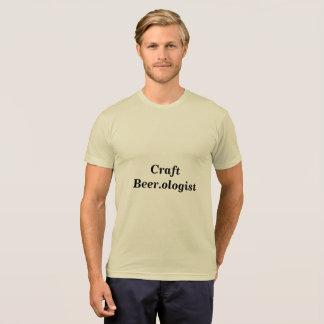 Craft Beer.ologist T-shirt