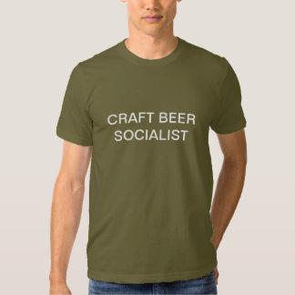 Craft Beer Socialist T-shirts