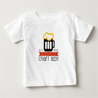 Craft Brewery Logo Design Template Baby T-Shirt