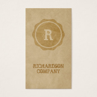 Craft business cards Craft paper Craftsman