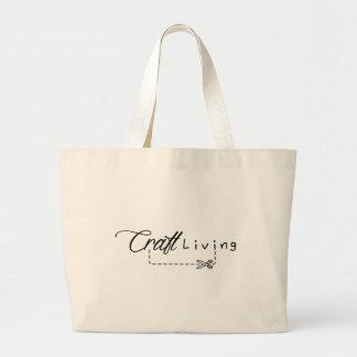 Craft Living Logo Large Tote Bag
