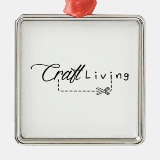 Craft Living Logo Metal Ornament