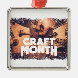 Craft Month - Appreciation Day Metal Ornament
