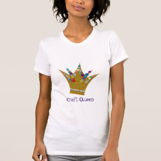 Craft Queen - Embellished Crown T-Shirt