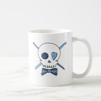 Craft Skull (Blue) Coffee Mug