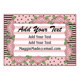 Crafter / Designer / Seamstress Card / Tag - SRF Large Business Card