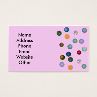 Crafter or Seamstress Business Card