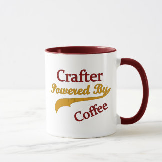 Crafter Powered By Coffee Mug
