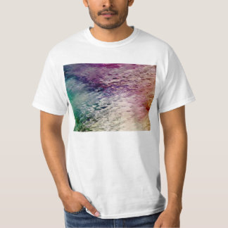 CrafterBeautiful Artsy Glass Abstract Wavy Texture T-Shirt