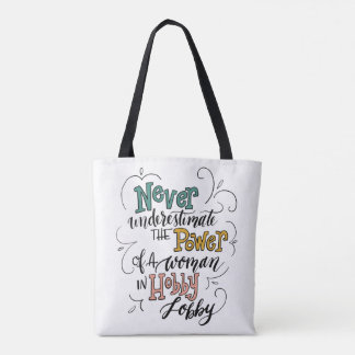 Crafter's Tote Bag - Funny Quote