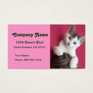 Crafts and Knitting Business Card