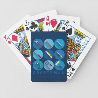 craftsman bicycle poker cards