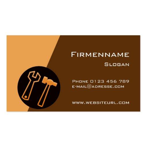 Craftsman Business Cards
