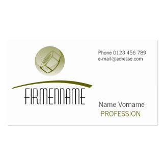 craftsman pack of standard business cards