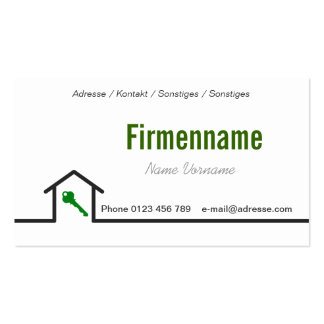 Craftsman fitter pack of standard business cards