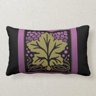 Craftsman Grape Leaf and Grapes (Lumbar Pillow) Pillows