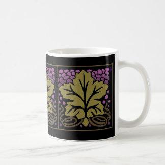 Craftsman Grape Leaf and Grapes (Mug) Basic White Mug