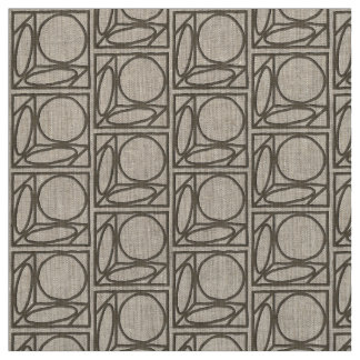 Craftsman Optical Illusion (Ash Brown) Fabric