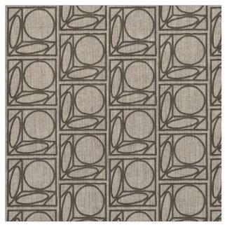 Craftsman Optical Illusion (Ash Brown) Fabric