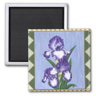 Craftsman Purple Iris Magnet