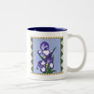 Craftsman Purple Iris Mug