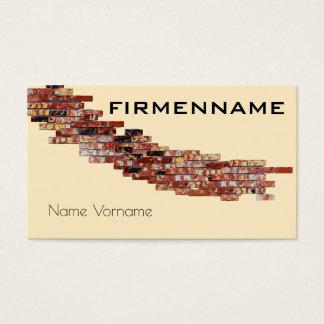 craftsman service business card