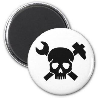 Craftsman skull magnet