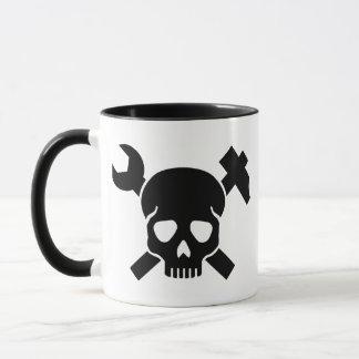 Craftsman skull mug