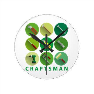 craftsman tools wallclocks