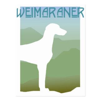 Craftsman Weimaraner Postcard