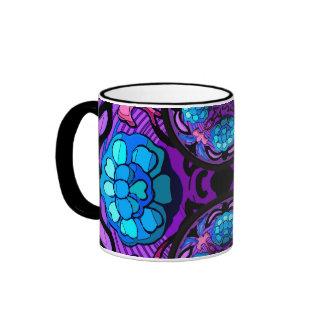 Craftsman Winter Garden Ringer Coffee Mug