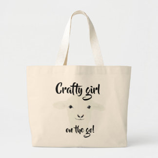 Crafty girl on the go! - Tote
