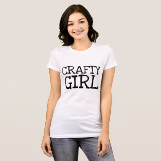 CRAFTY GIRL t-shirts, Crafter T-Shirt