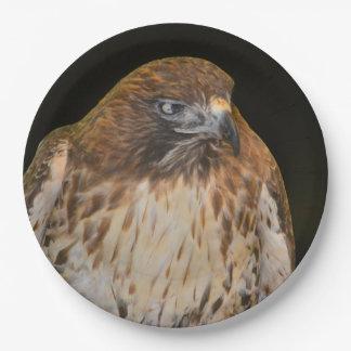 Crafty Hawk 9 Inch Paper Plate