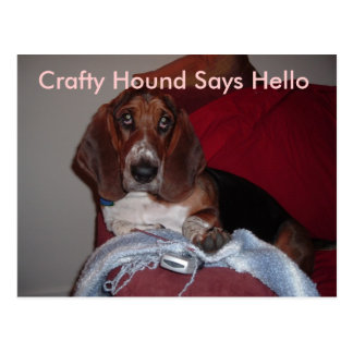 Crafty Hound Postcards